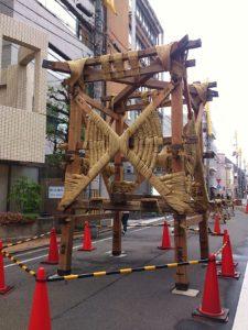 祇園祭2014 鉾建て