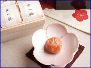 おうすの里「献上梅」「京一輪(きょういちりん)」&梅さらり
